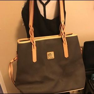 Authentic Brown Leather Dooney and Bourke